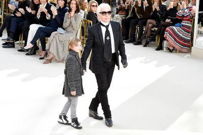 Hudson Kroenig, Karl Lagerfeld