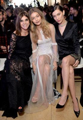 Carine Roitfeld, Gigi Hadid, Bella Hadid