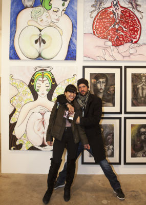 milos zica in Clio Art Fair New York