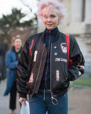 curtis mayhem in Paris Fashion Week: 50 Must-See Street Style Photos