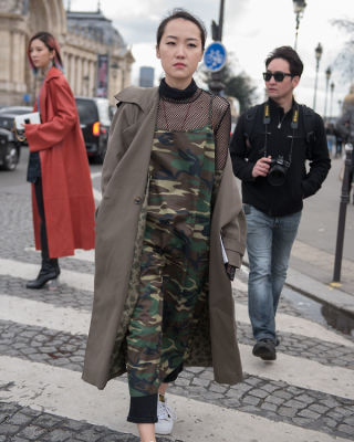 theresa w in Paris Fashion Week: 50 Must-See Street Style Photos