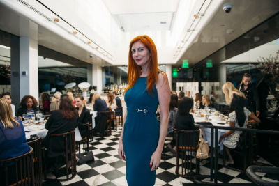 caroline mcbride in DECORTÉ Luncheon at MR CHOW Beverly Hills