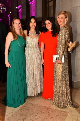 bettina bennett in Best Dressed Guests: The Most Glam Gowns At The Frick Collection's Young Fellows Ball 2016