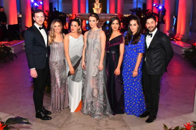 cory pitzer in Best Dressed Guests: The Most Glam Gowns At The Frick Collection's Young Fellows Ball 2016