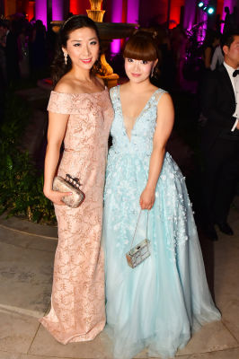 jun ge in Best Dressed Guests: The Most Glam Gowns At The Frick Collection's Young Fellows Ball 2016