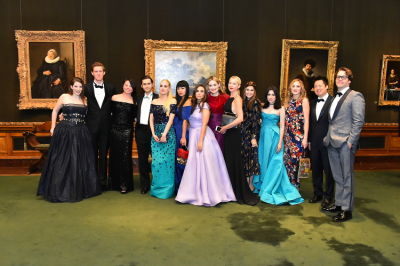 tini cochran in The Frick Collection Young Fellows Ball 2016 Presents PALLADIUM NIGHTS