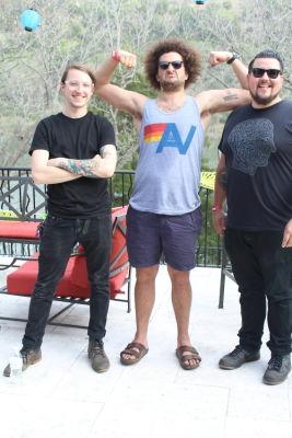 Steven Alger, Andy Frasco, Andee Avila