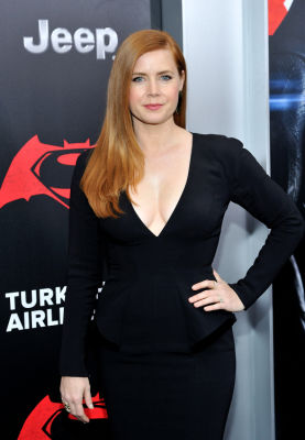amy adams in Batman v Superman NY premiere