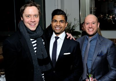 veeral rathod in J. Hilburn Dinner