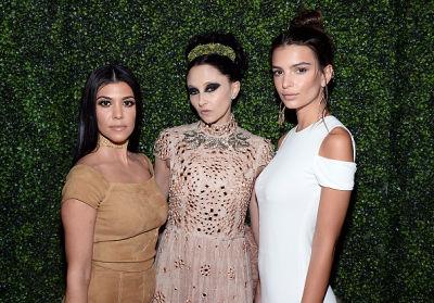 Kourtney Kardashian, Stacey Bendet, Emily Ratajkowski