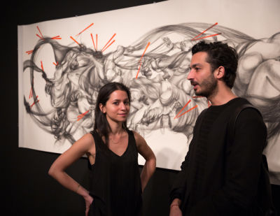 burcu oz in Contemporary Artist Hui Chi Lee Debuts 'Lian : Lian' Exhibit