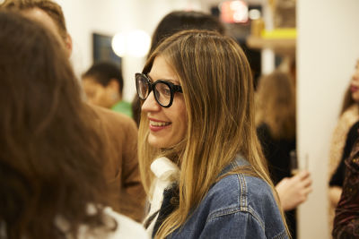 ulla johnson in Cocktails at Clare V. Cobble Hill Store