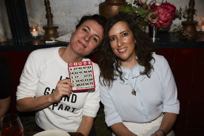garance dore in Bingo Dinner at June Wine Bar