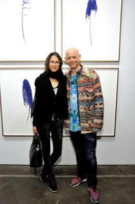 sebastian wahl in Eagle Hunters exhibition opening at Joseph Gross Gallery