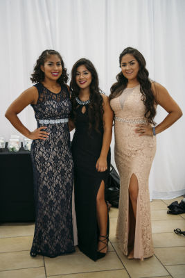 martha angeles in Prom Preview Runway Show for Outstanding Local Students at The Shops at Montebello