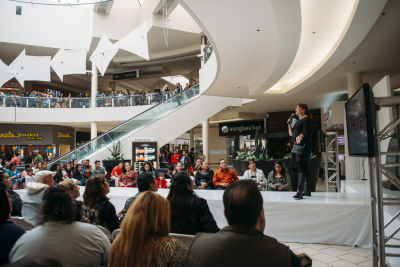 marida petitjean in Prom Preview Runway Show for Outstanding Local Students at The Shops at Montebello