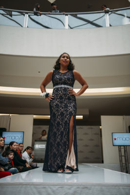 ayleen rueda in Prom Preview Runway Show for Outstanding Local Students at The Shops at Montebello