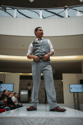 edgar ramos in Prom Preview Runway Show for Outstanding Local Students at The Shops at Montebello