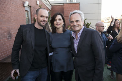 joe marchese in Picture Motion's Impact Film Party at the Tribeca Film Festival