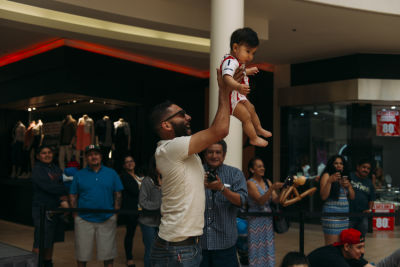 freddy carrillo in The Shops at Montebello Diaper Derby Event 2016