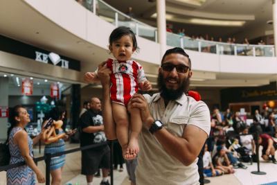 freddy carrillo in Inside The Shops At Montebello Diaper Derby Event