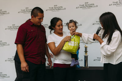 melissa martinez in The Shops at Montebello Diaper Derby Event 2016
