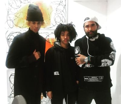 Michael Lockley, Luka Sabbat, Harif Guzman