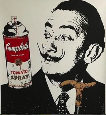 Mr.Brainwash, Salvador Dali,  SoHo Arts Club