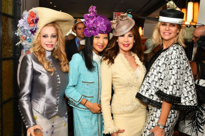 lauren day-roberts in New York Philanthropist Michelle-Marie Heinemann hosts 7th Annual Bellini and Bloody Mary Hat Party sponsored by Old Fashioned Mom Magazine