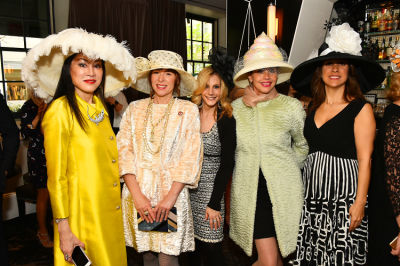 randi schatz in New York Philanthropist Michelle-Marie Heinemann hosts 7th Annual Bellini and Bloody Mary Hat Party sponsored by Old Fashioned Mom Magazine