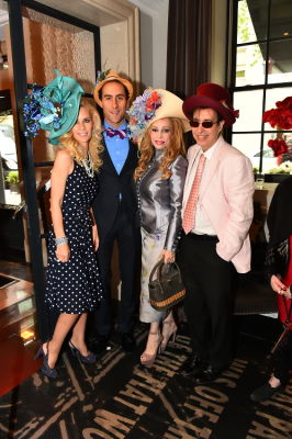 isaac lazerson in New York Philanthropist Michelle-Marie Heinemann hosts 7th Annual Bellini and Bloody Mary Hat Party sponsored by Old Fashioned Mom Magazine
