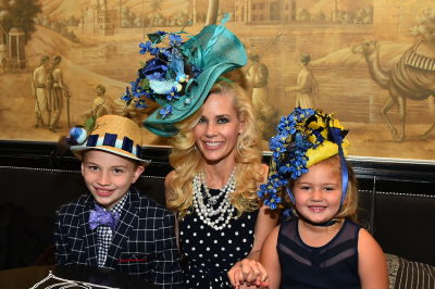 michelle marie-heinemann in New York Philanthropist Michelle-Marie Heinemann hosts 7th Annual Bellini and Bloody Mary Hat Party sponsored by Old Fashioned Mom Magazine