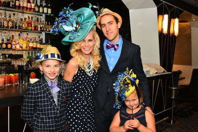 New York Philanthropist Michelle-Marie Heinemann hosts 7th Annual Bellini and Bloody Mary Hat Party sponsored by Old Fashioned Mom Magazine