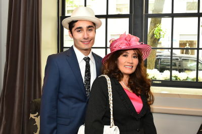 carmen dahdal in New York Philanthropist Michelle-Marie Heinemann hosts 7th Annual Bellini and Bloody Mary Hat Party sponsored by Old Fashioned Mom Magazine