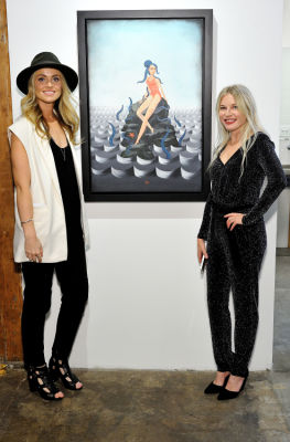 anne nicholls in Art LeadHERS Exhibition Opening at Joseph Gross Gallery