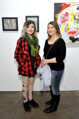 lexi jade in Art LeadHERS Exhibition Opening at Joseph Gross Gallery