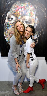 erika fuertes in Art LeadHERS Exhibition Opening at Joseph Gross Gallery