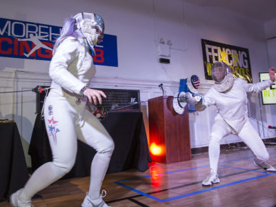 "Fencing In The Schools ""Turn The Light On Gala"" Hosted by Tim Gunn and Tim Morehouse"