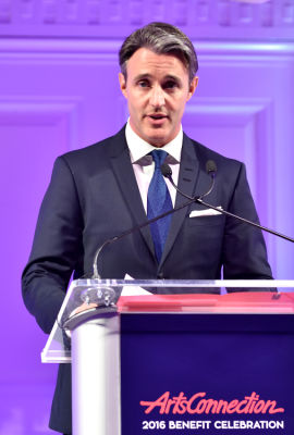 ben mulroney in ArtsConnection 2016 Benefit Celebration