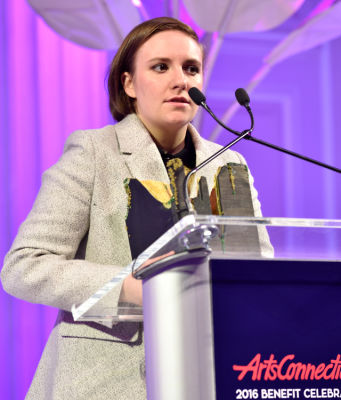 lena dunham in ArtsConnection 2016 Benefit Celebration