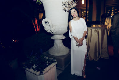 avishan bodjnoud in Best Dressed Guests: The 2016 Frick Collection Spring Garden Party