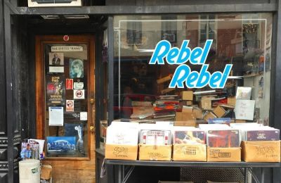 Rebel Rebel Records Is Closing Up Shop