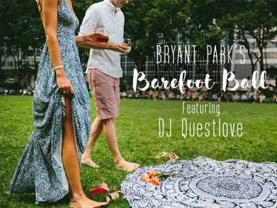You're Invited: Bryant Park's Barefoot Ball