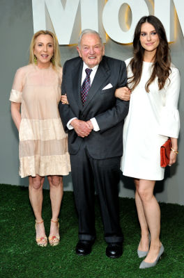 david rockefeller in MoMA Party in the Garden 2016