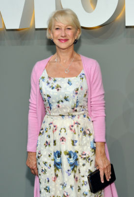 dame helen-mirren in MoMA Party in the Garden 2016