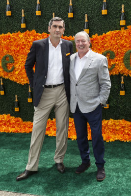 jim clark in Veuve Clicquot Polo Classic 2016