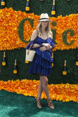 nicky hilton in Veuve Clicquot Polo Classic 2016
