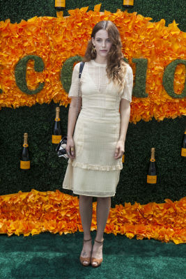 riley keough in Veuve Clicquot Polo Classic 2016
