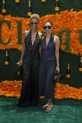 carly cushnie in Veuve Clicquot Polo Classic 2016