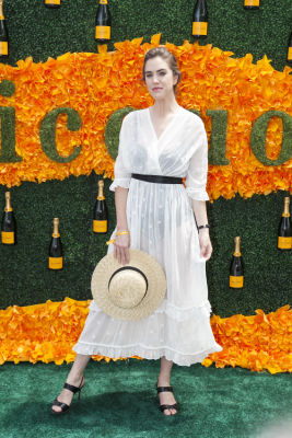 julia loomis in Veuve Clicquot Polo Classic 2016